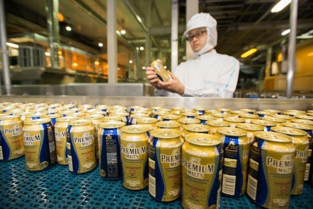 Suntory Brewery Musashino Factory