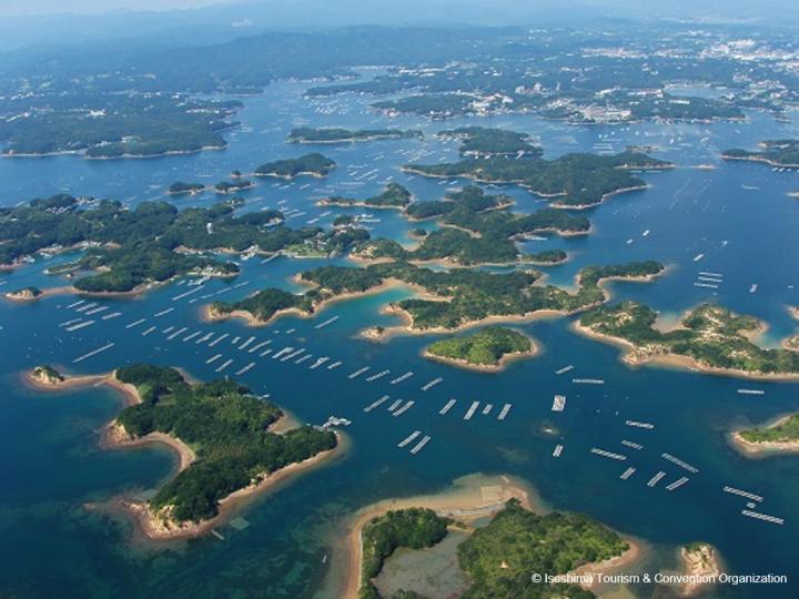 Ise-Shima, Iga-Ueno, Mt. Yoshino, Uji, Lake Biwa, Amano-Hashidate and Osaka